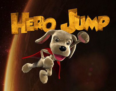 Hero Jump, an iPad/iPhone game.