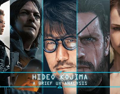 Hideo Kojima: A Brief UX Analysis