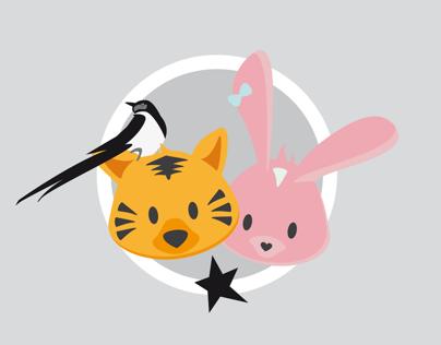 El Conejo, la Golondrina y el Tigre