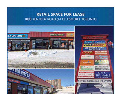 Commercial Real Estate Brochure