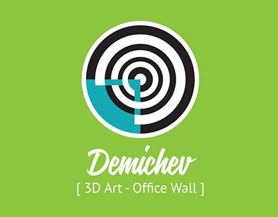 3D Art - Office Wall