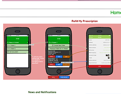 Rx Mobility Apps: Design and Workflow