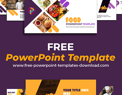PowerPoint Templates Free Download | For Fast Food
