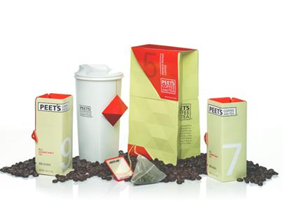 Peets Coffee and Tea : Rebranding