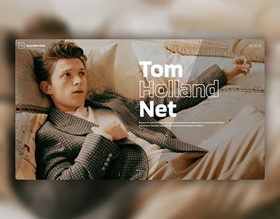 Tom Holland Net - A Fansite Project