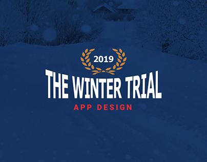 Winter Trial 2019 - APP DESIGN