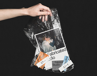 Stationery in a Plastic Bag Mockup