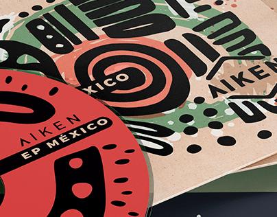 COVER Design [ EP MÉXICO · AIKEN ]