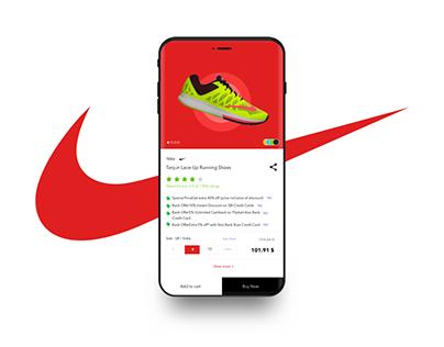 E-commerce  Mobile app page design