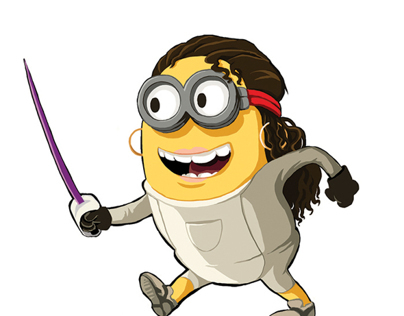 Fencing Girl Minion