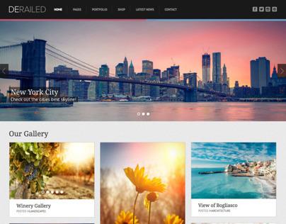 DeRailed - Photography & Portfolio Theme