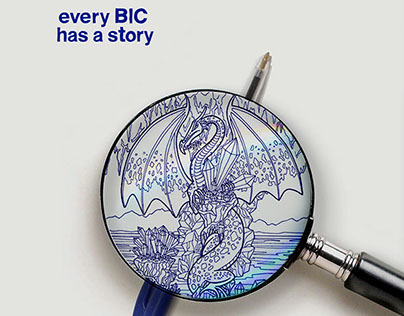 BIC | Ad concept: Every BIC has a story