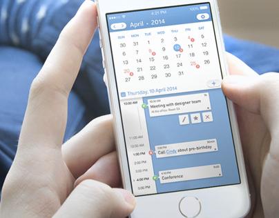 iPhone Calendar Concept