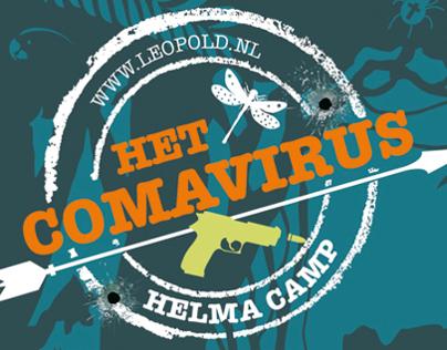 Bookdesign - het comavirus