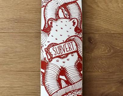 Subvert Skateboard Design