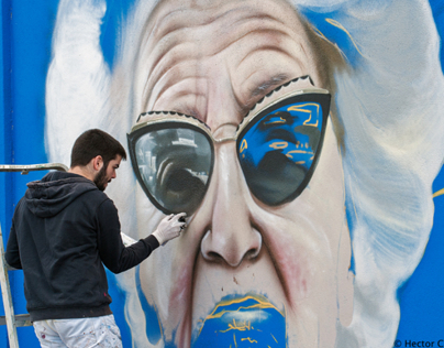 Lisbon : Muro Azul Phase 7