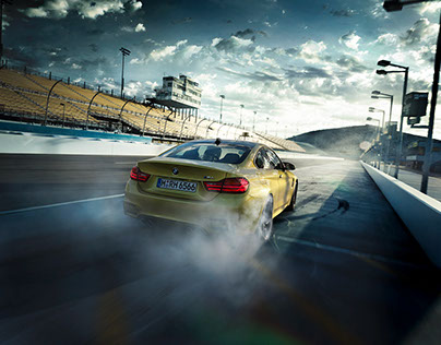 BMW M4 – Phoenix – Look creation and compositing on set
