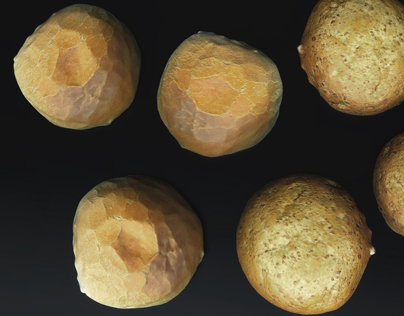 Photorealistic Bread