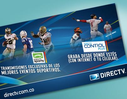ADVERTISING. Directv promos