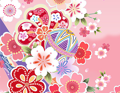 Flower pattern of Japan Part 2