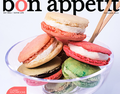 Bon Appetit Magazine Covers