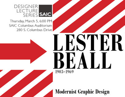 Designer Lecture Series Poster