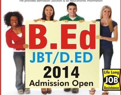 B.Ed admission with 45 Percentage