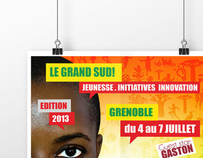 Cultural Forum Visual Identity: Grand Sud