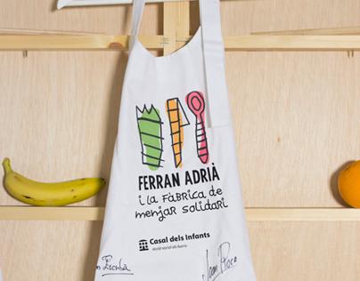 Ferran Adrià i la fàbrica de menjar solidari