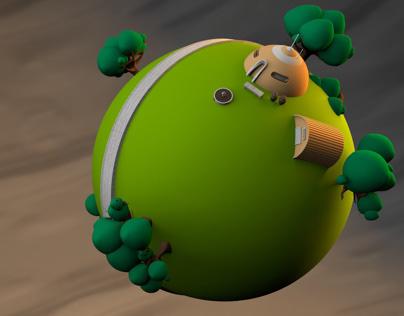 King Kai Planet
