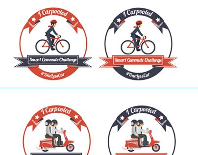 Badges - Smart Corporate Challenge