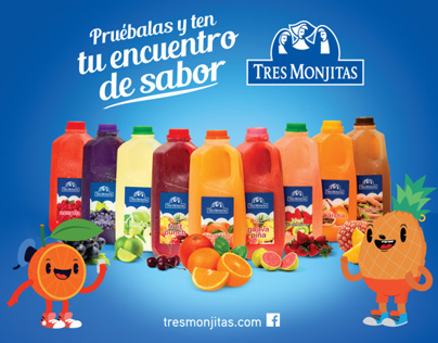 Tres Monjitas - Fruit Beverages 2014 Campaign