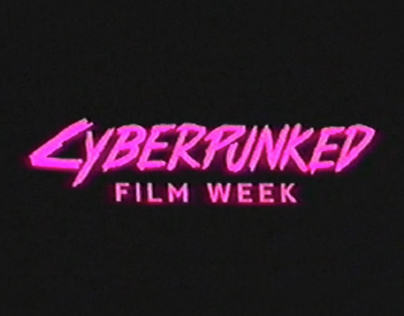 'Cyberpunked' Electronic Poster