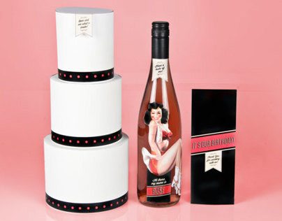 Wine Bottle Promotion