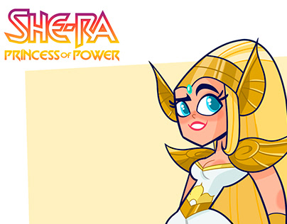 She-Ra and the princess of power Character redesign