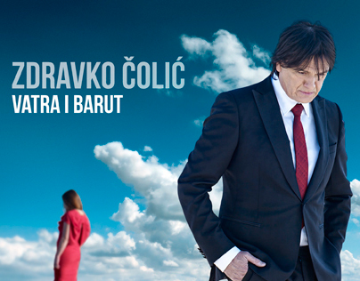"ZDRAVKO ČOLIĆ - ""VATRA I LED"" CD cover (proposal)"