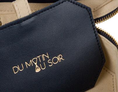 Identity and logo for DU MATIN AU SOIR