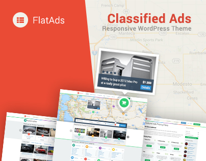 FlatAds - Classified Ads Directory Theme