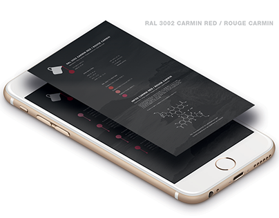 Rouge Carmin . App Color