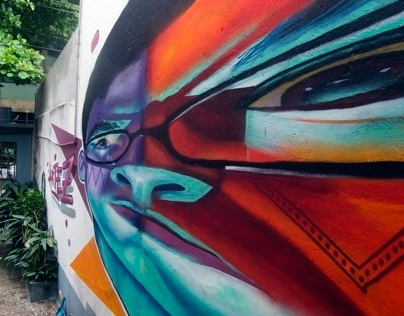 """ARTEZ - """"Point of View"""" mural"""