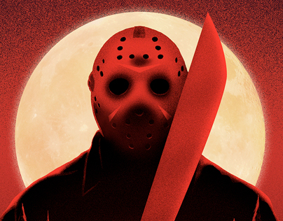 Friday the 13th - Bloody Friday print