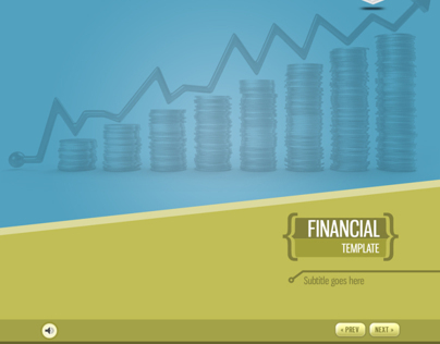 eLearning Template - Financial Industry