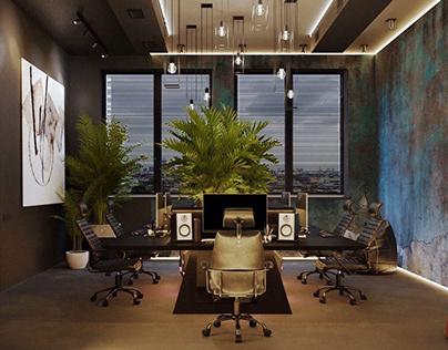 Дизайн офісу IT компанії