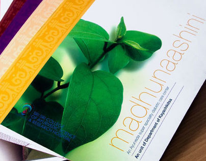 Sri Sri Ayurveda Hospital – Brochure Design