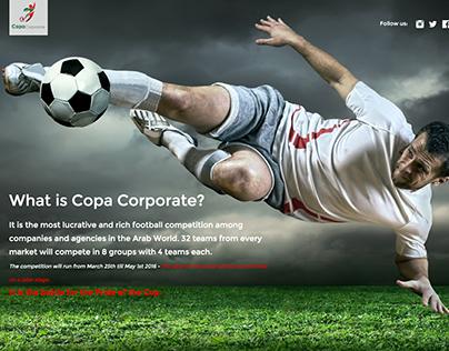 Copa Challenge Website