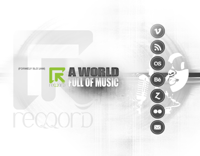 Logo Design music company REQQORD