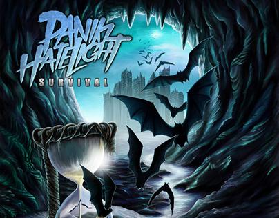 Paniki Hate Light - Survival Album Cover