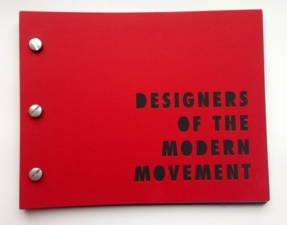 Designers of the Modern Movement Book