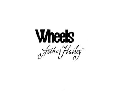 My first illust book Wheels by Arthur Hailey 2003