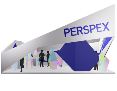 Perspex - Exhibition Stand
